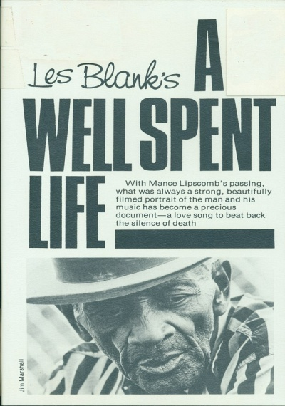 A Well Spent Life