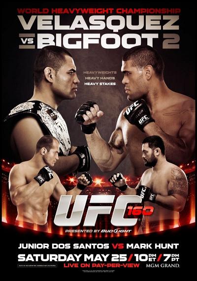 UFC Event Replays | UFC 160: Velasquez vs. Bigfoot 2