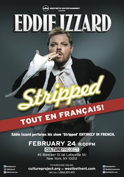 Eddie Izzard: Stripped tout en francais