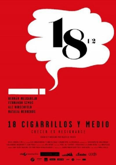 18 cigarrillos y medio