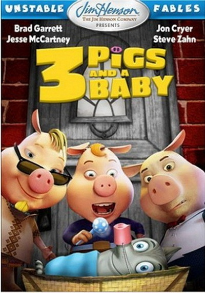 Unstable Fables: 3 Pigs and a Baby