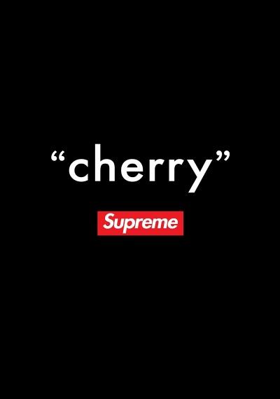 """""""cherry"""" - Supreme"""