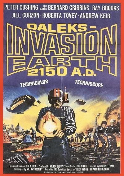 Daleks Invasion Earth 2150 A.D.