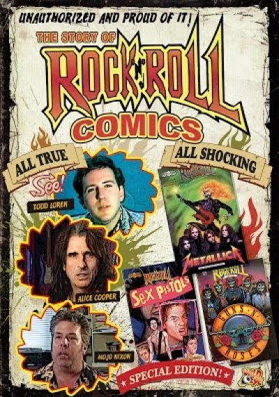 The Story of Rock-n-Roll Comics