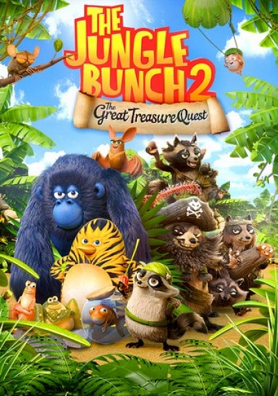 The Jungle Bunch 2: The Great Treasure Quest