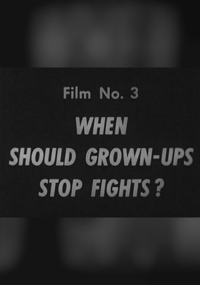 When Should Grown-ups Stop Fights?