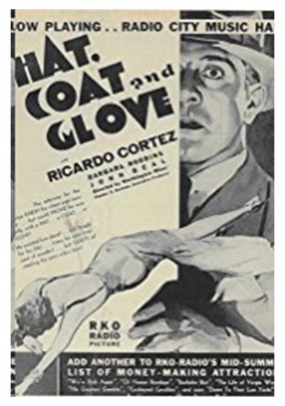 Hat, Coat and Glove