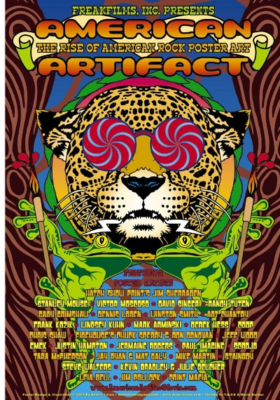 American Artifact: Rise Of The American Rock Poster
