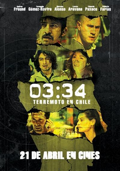 03:34, Terremoto en Chile