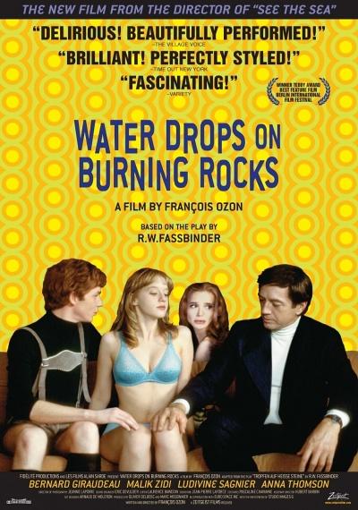 Water Drops On Burning Rocks