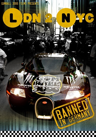 Gumball 3000: LDN 2 NYC