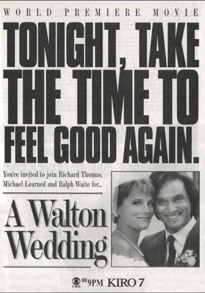 A Walton Wedding