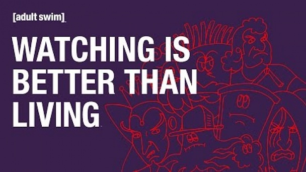 Adult Swim: Watching is Better Than Living