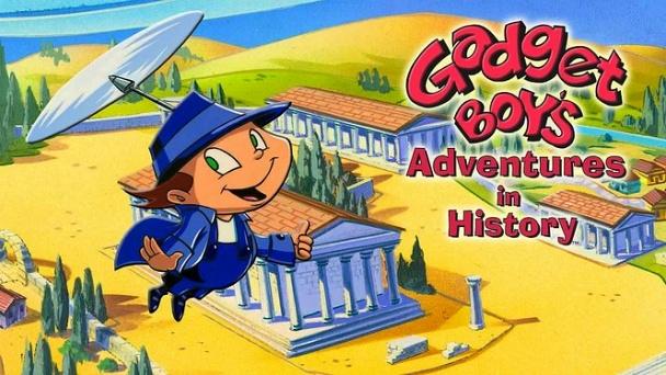 Gadget Boy's Adventures in History
