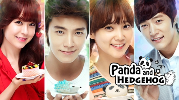 Panda And Hedgehog