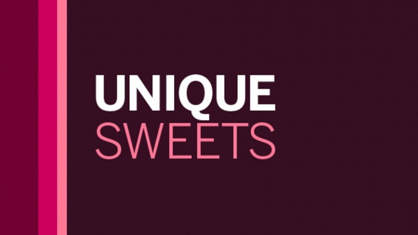 Unique Sweets
