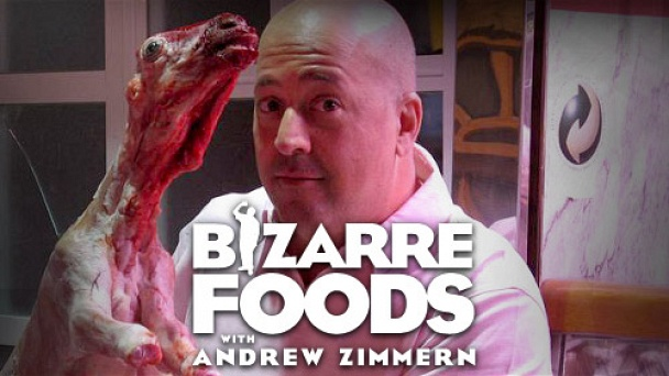 Bizarre Foods With Andrew Zimmern
