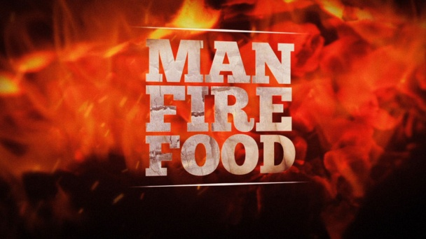 Man Fire Food