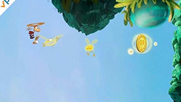 Clip: Rayman Jungle Run Gameplay With Mega Mike